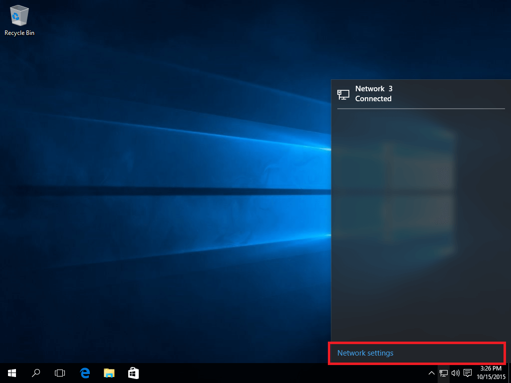 Connect Ivacy VPN on Windows 10