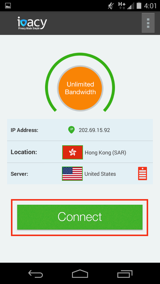 Ivacy VPN Dialer