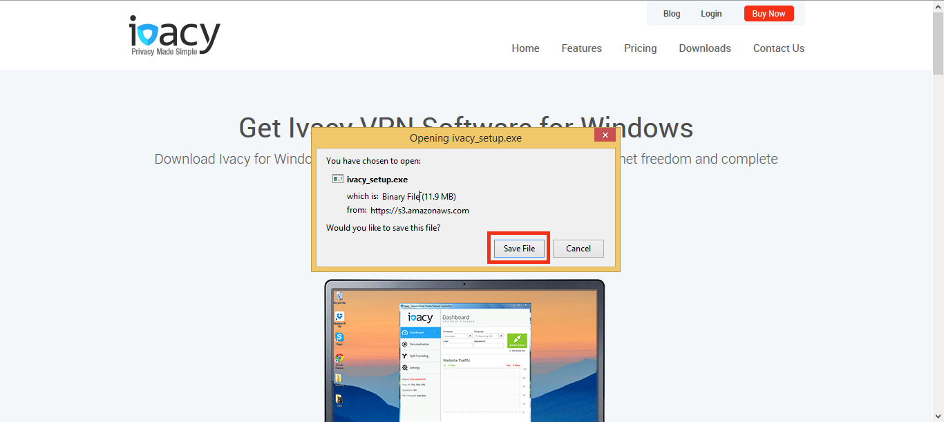 Download VPN on Windows 8