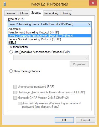 Ivacy VPN Properties