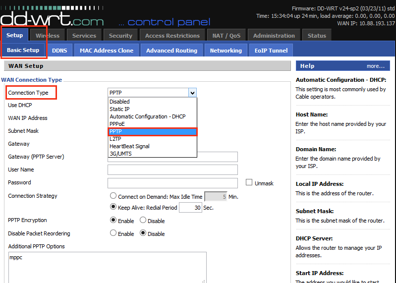Configure VPN on Router 2