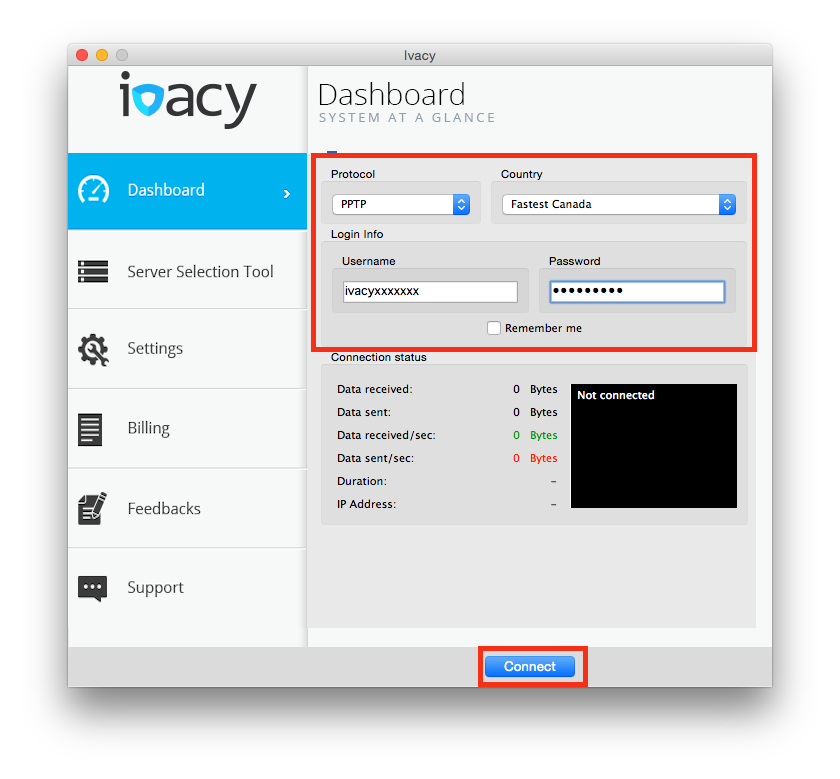 How To Setup Ivacy VPN Software on Mac