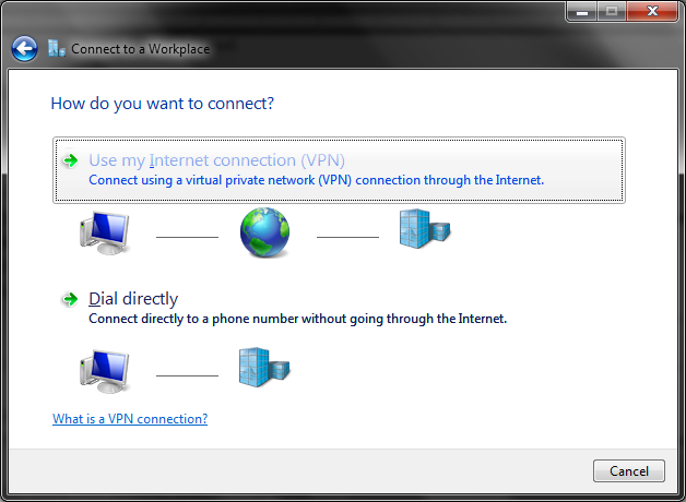 Windows 7 Workplace Connection