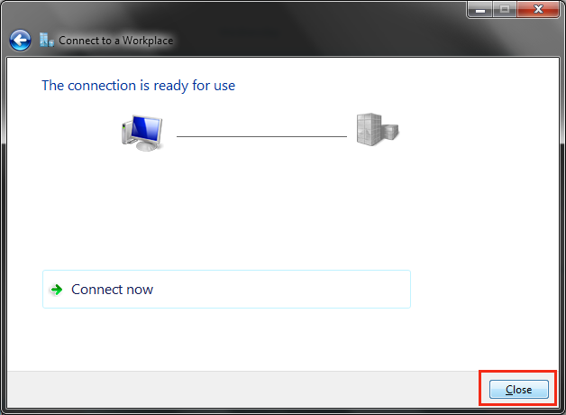 VPN on Windows 7