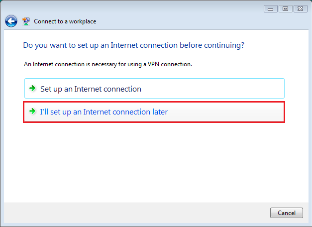 Vpn How To Set Up Vista