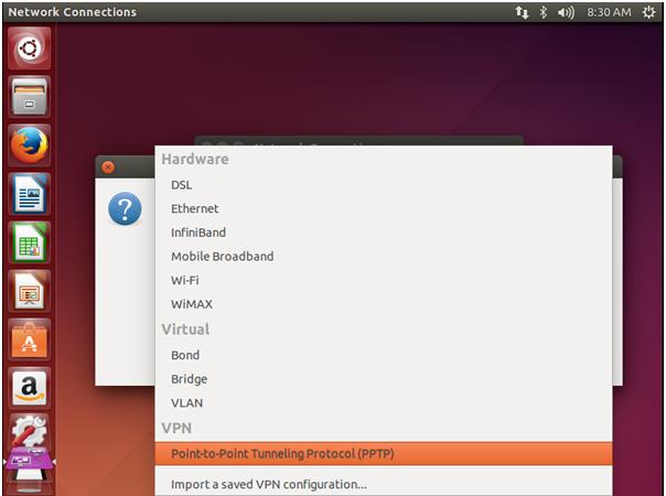 PPTP Protocol on Ubuntu