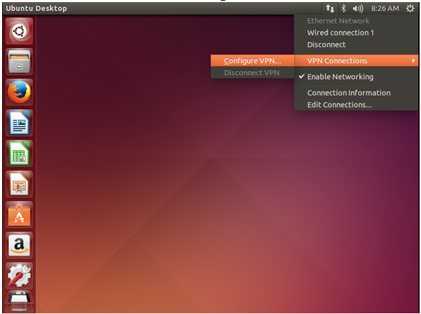 Configure VPN on Ubuntu Linux
