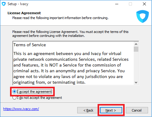 Ivacy License Agreement