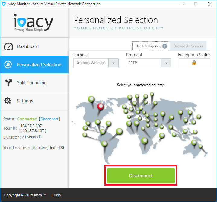 Ivacy Monitor 2