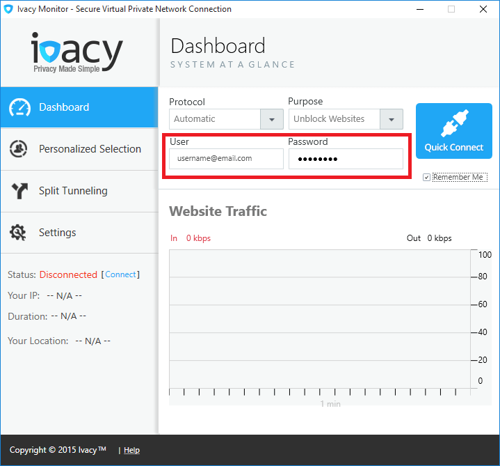Ivacy Monitor
