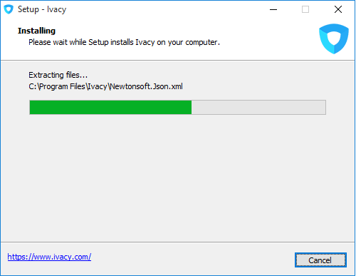 Ivacy Setup Wizard