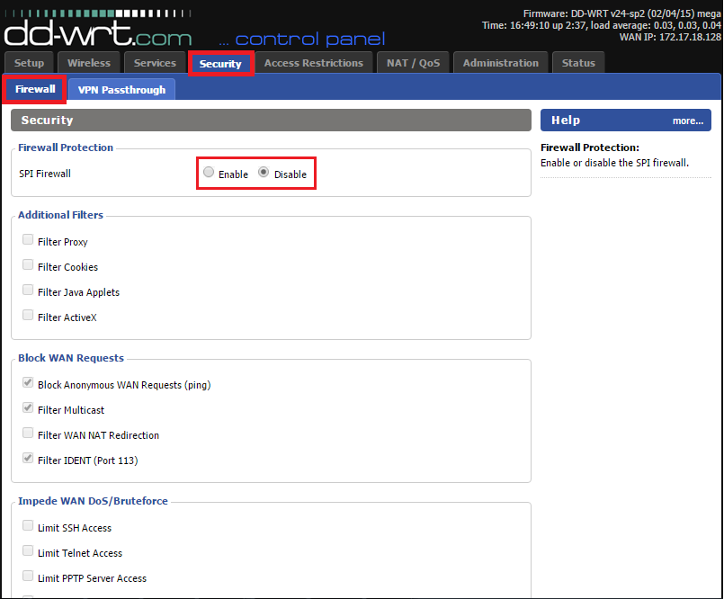 How to configure OpenVPN on DD-Wrt router