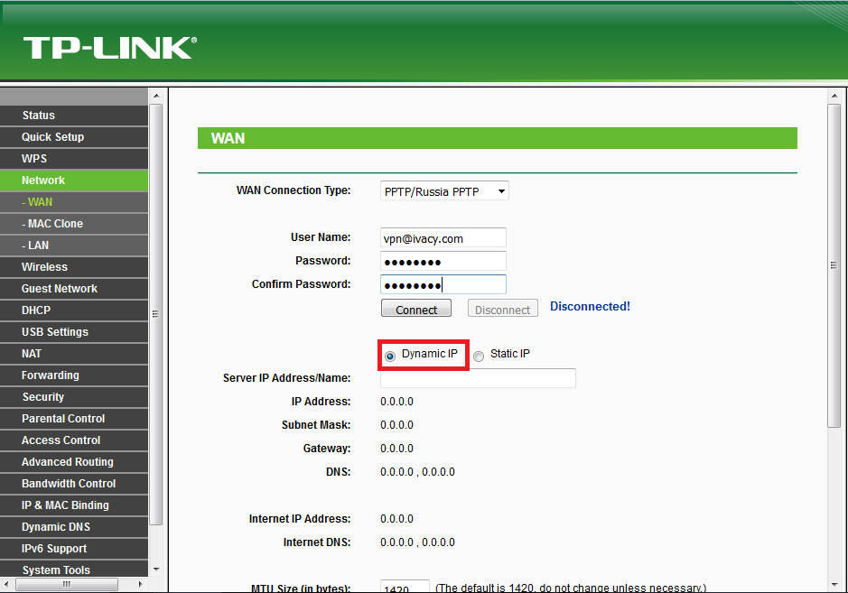 How to Configure VPN on TP-Link Router Manually