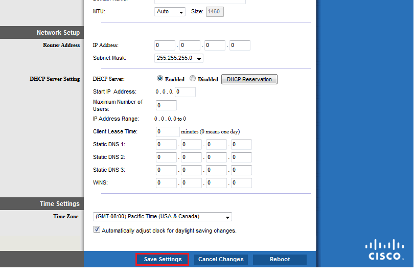 How to configure PPTP on your Linksys Router
